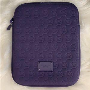 Michael Kors Purple iPad/tablet case
